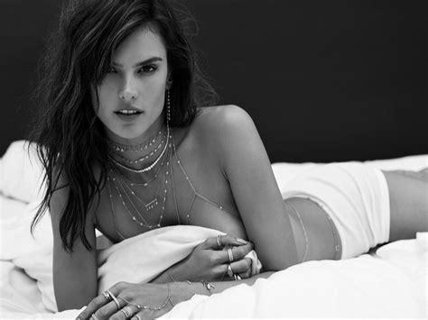 Alessandra Ambrosio Naked Sexy Hot Celebs Home