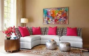 Jolies Salons Dcorations En Rose Dcoration Salon