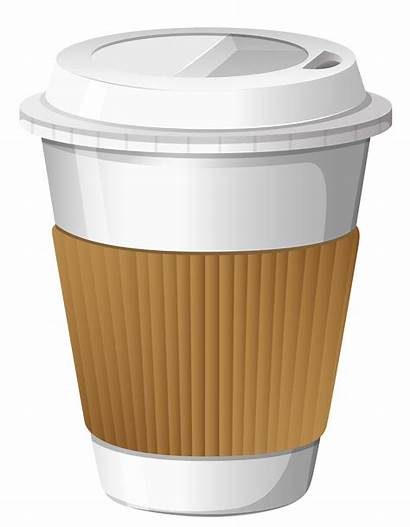 Coffee Cup Transparent Clipart Background Cups Clip
