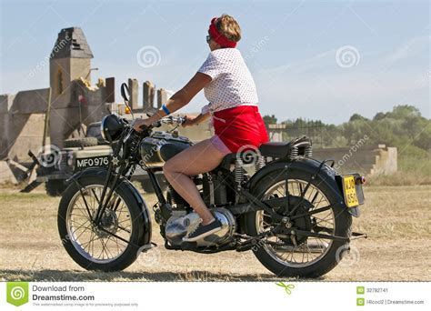 casual motorcycle vintage army motorcycle editorial photo image 32782741