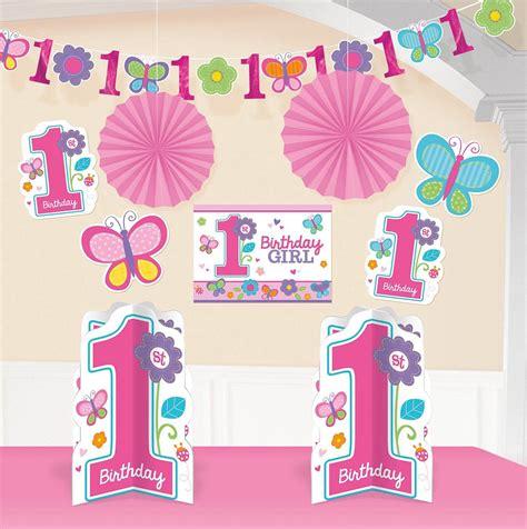 10 geburtstag deko sweet birthday 1 geburtstag deko set 10 tlg f 252 r m 228 dchen 1 geburtstag baby