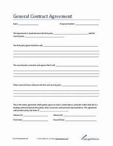 general contract agreement hashdoc With general contractors contract template