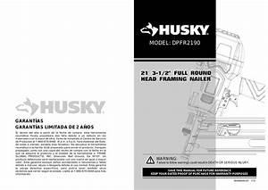 Husky Dpfr2190 User Guide