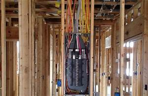 Residential Electrical Service Wiring Diagrams Electrical