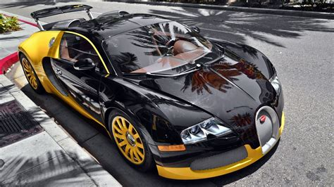 yellow bugatti black and yellow bugatti veyron full hd desktop