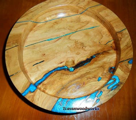 wood bowls  epoxy resin inlays  pinterest wood