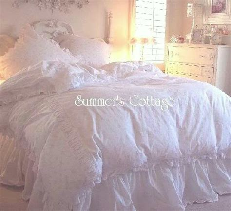 simply shabby chic bed skirt cal king shabby cottage chic white ruffled bedskirt dust ruffle simply shabby chic