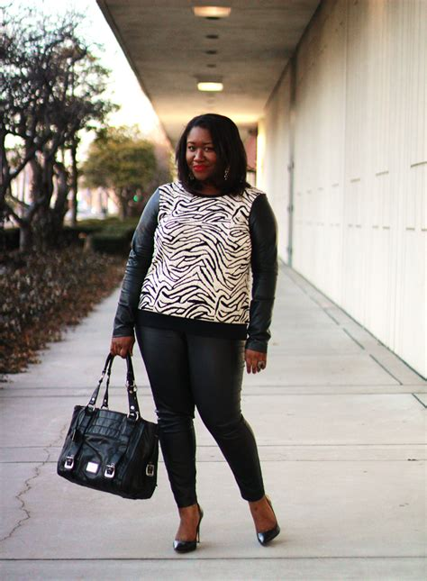 Shapely Chic Sheri - Plus Size Fashion and Style Blog for Curvy Women Wild Side
