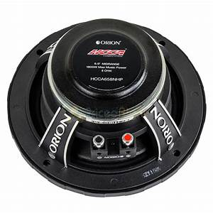 2 Orion Audio 6 5 U0026quot  Hcca Mid Range Loud Speakers Pair 1800