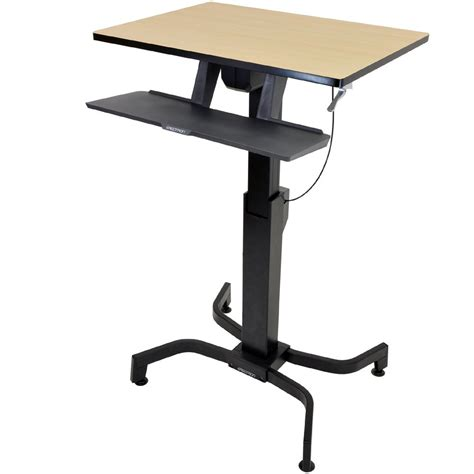 ergotron sit stand desk adjustment standing desk ergotron 24 280 928 workfit pd