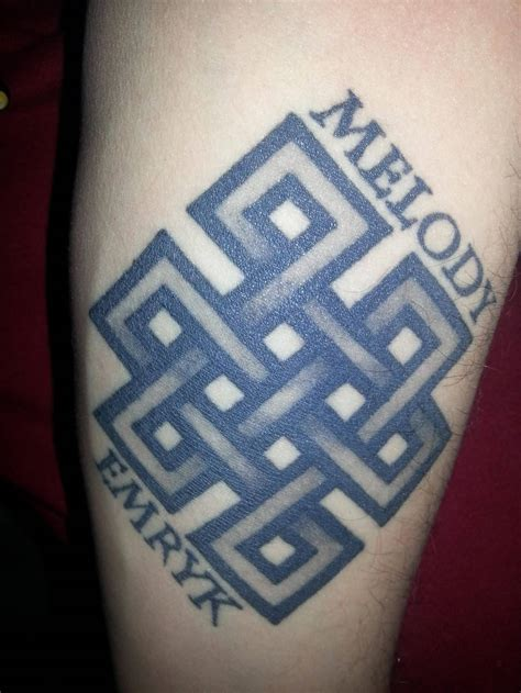 endless knot tattoo designs