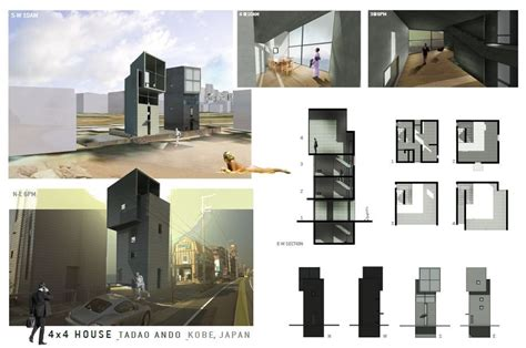 tadao andao 4x4 house rendering by wes strain arch tadao ando architecture e architecture