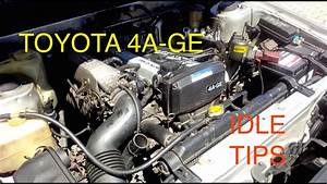 Fixing Idle Problems On Toyota 4age Engine  Fuel Mixture