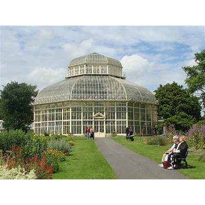 One of the greenhouses at Dublin Botanic Gardens