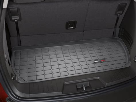 chevy traverse floor mats 2017 weathertech cargo liner for buick enclave 3rd row