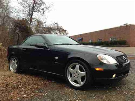 repair anti lock braking 1999 mercedes benz slk class transmission control purchase used 1999 mercedes benz slk 230 black beauty sport package 17 quot amg wheels loaded in