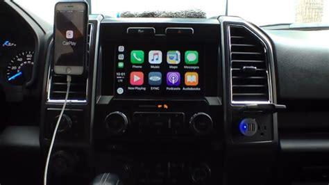 ford  appleandroid carplayauto update