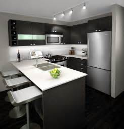 kitchen island l shaped best kitchen with small bar and refrigerator also gray