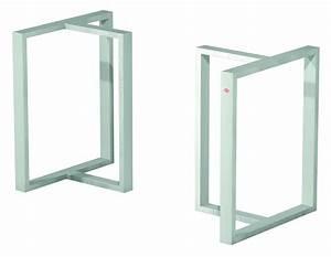 Füße Für Tische : kufentischgestell f r glas oder massivholz tg85 massiv und stabil ~ Orissabook.com Haus und Dekorationen