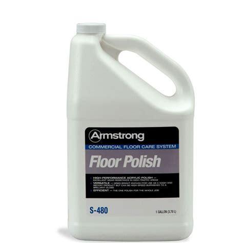 Armstrong S 480 Commercial Acrylic Floor Polish   1