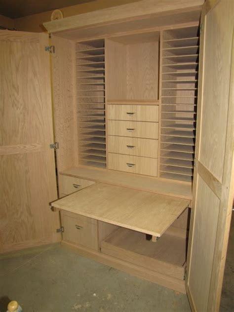 custom furniture scrapbooking armoire