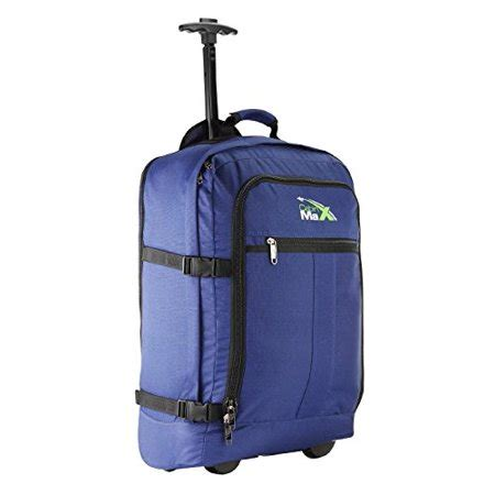 cabin max carry on bag cabin max lyon flight approved bag wheeled carry on