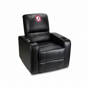 university of alabama power theater recliner with usb port With alabama recliner
