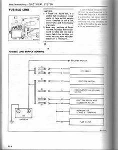 Fusible Link Diagram - Electrical