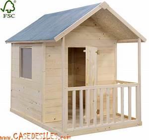 Cabane Bois Pas Cher : cabane de jardin enfant pas cher ~ Melissatoandfro.com Idées de Décoration