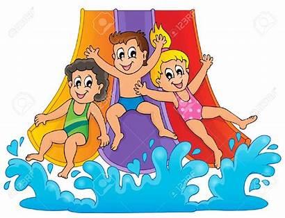 Water Clip Clipart Park Splash Theme Slide