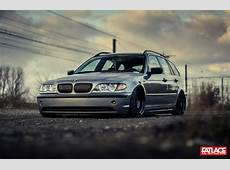Slammed BMW E46 Touring – Fatlace™ Since 1999
