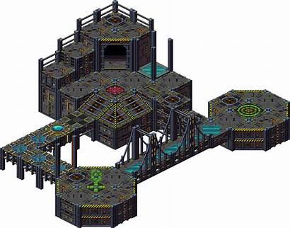 Pixel Isometric Mech Sandbox Tiles Pixeljoint Iso