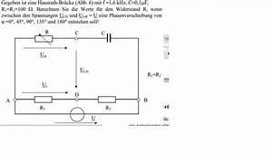 Wheatstone Brücke Widerstand Berechnen : hausrath br cke widerstand berechnen gegeben spannung und phasenverschiebung nanolounge ~ Themetempest.com Abrechnung
