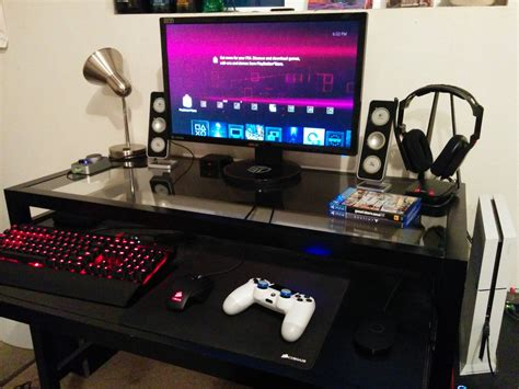 For me, this is still a good time to make ps4 pro desk setup for the reason that it has already mouse and keyboard support. /r/PS4 can I see your gaming setup? : PS4