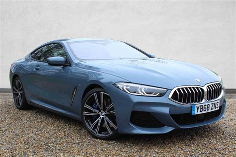 Bmw 8 Series Coupe Backgrounds by Used Bmw 8 Series Coupe Diesel In Barcelona Blue From