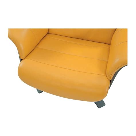City Furniture Izzy Yellow Leather Swivel Accent Chair by Yellow Leather Chair Home Ideas