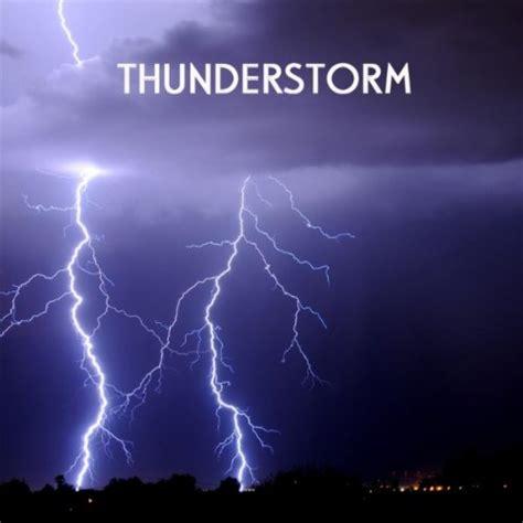 Relaxing Thunder Sound, Thunderstorm, Rolling Thunder, 3D