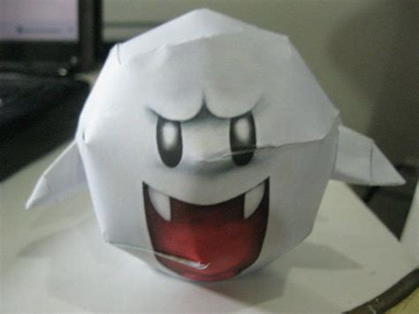 super mario boo papercraft     paper model