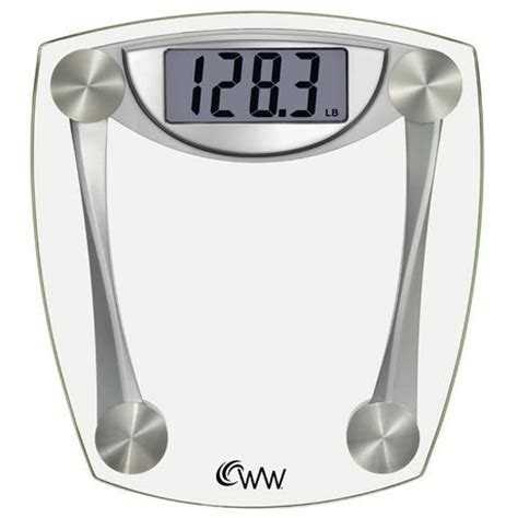 Bathroom Scale Walmartca weight watchers 174 digital glass scale walmart canada