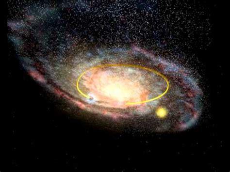 Black Hole Orbit The Milky Way Sun Yellow Youtube