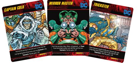 dc deck building expansion 2 dc deck building crossover pack 5 the rogues