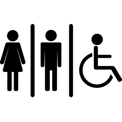sticker homme femme handicape stickers salle de bain
