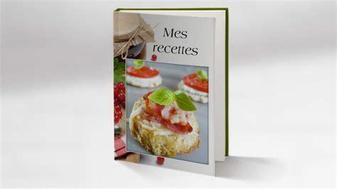 livre de cuisine personnalisé exemple de livre de cuisine personnalisé