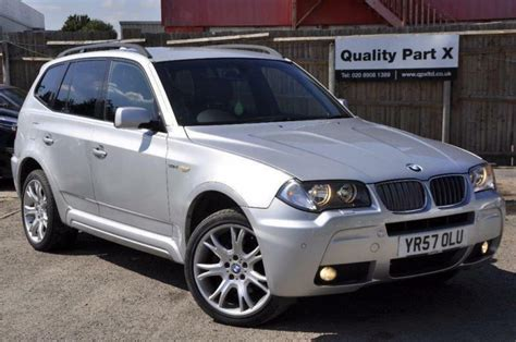Bmw X3 2008 by 2008 Bmw X3 3 0 Sd M Sport 5dr In Wembley Gumtree