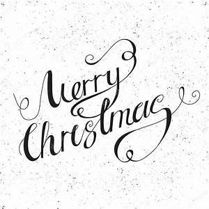 Merry Xmas Schriftzug : kalligraphische merry christmas schriftzug stockvektor lanka69 85268568 ~ Buech-reservation.com Haus und Dekorationen