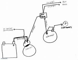 Restoring Chevy One Wire Alternator Diagram