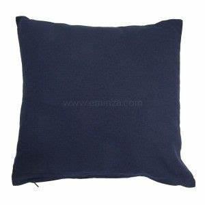 Coussin Bleu Marine : couvre lit 220 x 240 cm candy bleu couvre lit boutis eminza ~ Teatrodelosmanantiales.com Idées de Décoration