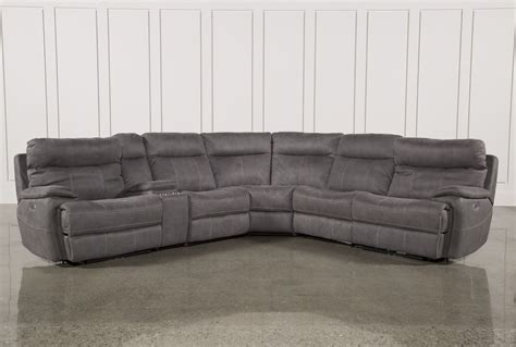 Leather Sectional Sleeper Sofa With Recliners by Furniture Create Your Living Room With Cool Sectional