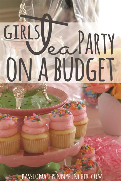 girls tea party   budget passionate penny pincher