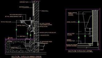 bathroom basin ideas typical section of wash basin and plan n design